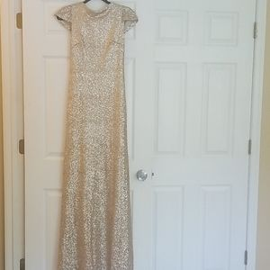 Gold Sorella Vita long dress